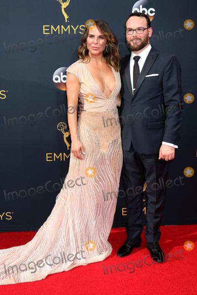 Dana Brunetti Photo - LOS ANGELES - SEP 18  Kate del Castillo Dana Brunetti at the 2016 Primetime Emmy Awards - Arrivals at the Microsoft Theater on September 18 2016 in Los Angeles CA