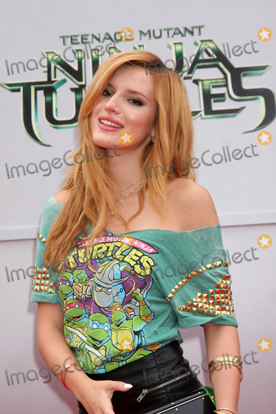 Bella Thorne Photo - LOS ANGELES - AUG 3  Bella Thorne at the Teenage Mutant Ninja Turtles Premiere at the Village Theater on August 3 2014 in Westwood CA