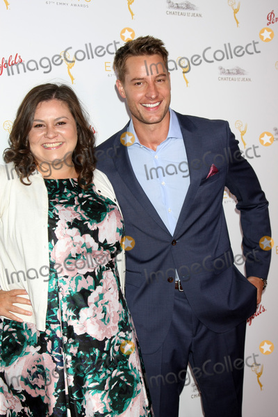 Justin Hartley Photo - LOS ANGELES - AUG 26  Angelica McDaniel Justin Hartley at the Television Academys Daytime Programming Peer Group Reception at the Montage Hotel on August 26 2015 in Beverly Hills CA