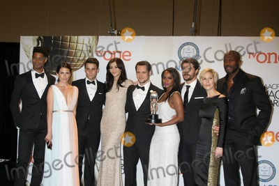Katie Findlay Photo - LOS ANGELES - FEB 6  (L-R) Actor Alfred Enoch actress Karla Souza actor Jack Falahe actress Katie Findlay actor Matt McGorry actress Aja Naomi King actor Charlie Weber actress Liza Weil and actor Billy Brown of How to Get Away with Murder at the 46th NAACP Image Awards Press Room at a Pasadena Convention Center on February 6 2015 in Pasadena CA
