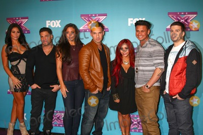 Ronnie Ortiz Magro Photo - LOS ANGELES - DEC 19  Jenni Farley Ronnie Ortiz-Magro Sammi Sweetheart Giancola Mike The Situation Sorrentino Nicole Snooki Polizzi Paul Pauly D DelVecchio Vinny Guadagnino at the X Factor Season Finale performances  show taping at CBS Television City on December 19 2012 in Los Angeles CA