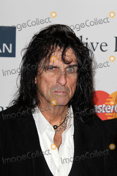 Clive Davis Photo - LOS ANGELES - FEB 9  Alice Cooper arrives at the Clive Davis 2013 Pre-GRAMMY Gala at the Beverly Hilton Hotel on February 9 2013 in Beverly Hills CA