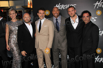 Aksel Hennie Photo - LOS ANGELES - JUL 23  Ingrid Bols Berdal Aksel Hennie Rufus Sewell Dwayne Johnson Tobias Santelmann Reece Ritchie at the Hercules Los Angeles Premiere at the TCL Chinese Theater on July 23 2014 in Los Angeles CA