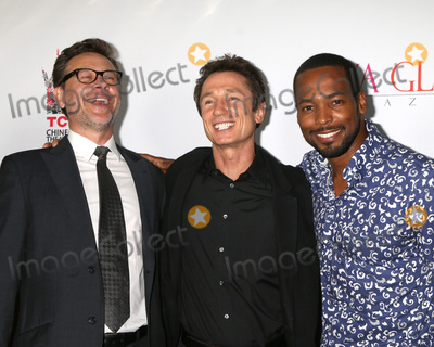 Anthony Montgomery Photo - LOS ANGELES - SEP 7  Connor Trinneer Dominic Keating Anthony Montgomery at the UNBELIEVABLE Premiere at the TCL Chinese 6 Theaters on September 7 2016 in Los Angeles CA
