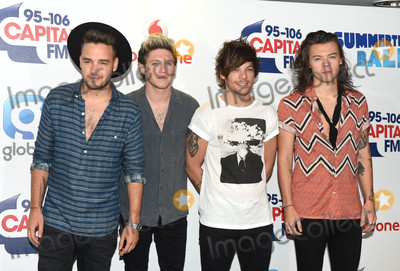 Liam Payne Photo - Photo by KGC-03starmaxinccomSTAR MAX2015ALL RIGHTS RESERVEDTelephoneFax (212) 995-11966615Liam Payne Niall Horan Louis Tomlinson and Harry Styles of One Direction at the Capital FM Summertime Ball at Wembley Stadium(London England UK)