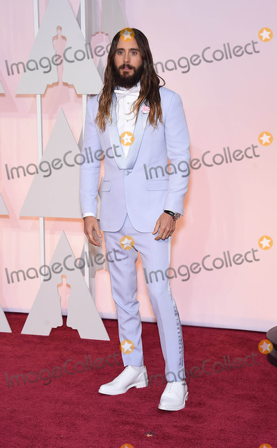 Jared Leto Photo - Photo by KGC-11starmaxinccomSTAR MAX2015ALL RIGHTS RESERVEDTelephoneFax (212) 995-119622215Jared Leto at the 87th Annual Academy Awards (Oscars)(Hollywood CA)