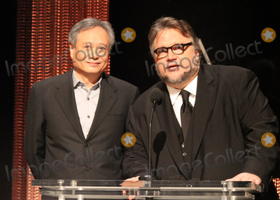 Ang Lee Photo - Photo by Clinton WallacestarmaxinccomSTAR MAX2016ALL RIGHTS RESERVEDTelephoneFax (212) 995-119611416Ang Lee and Guillermo del Toro at The 88th Oscars Nominations Announcement at The Academy Of Motion Picture Arts And Sciences(Los Angeles CA)