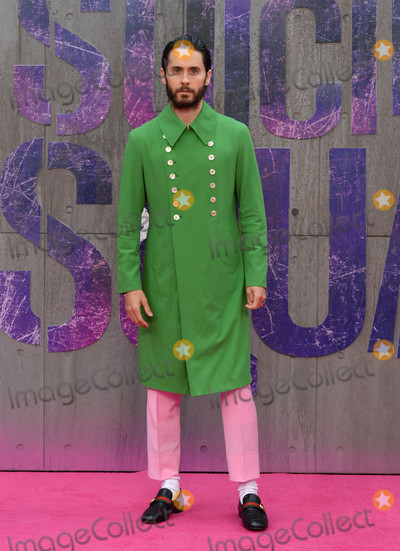 Jared Leto Photo - Photo by KGC-03starmaxinccomSTAR MAX2016ALL RIGHTS RESERVEDTelephoneFax (212) 995-11968316Jared Leto at the premiere of Suicide Squad(London England)