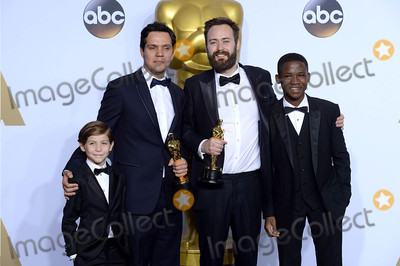 Abraham Attah Photo - Photo by PDstarmaxinccomSTAR MAXCopyright 2016ALL RIGHTS RESERVEDTelephoneFax (212) 995-119622816Abraham Attah and Jacob Tremblay present Benjamin Cleary and Shan Christopher Ogilvie with the award for Best Live Action Short Film at the 88th Annual Academy Awards (Oscars)(Hollywood CA USA)