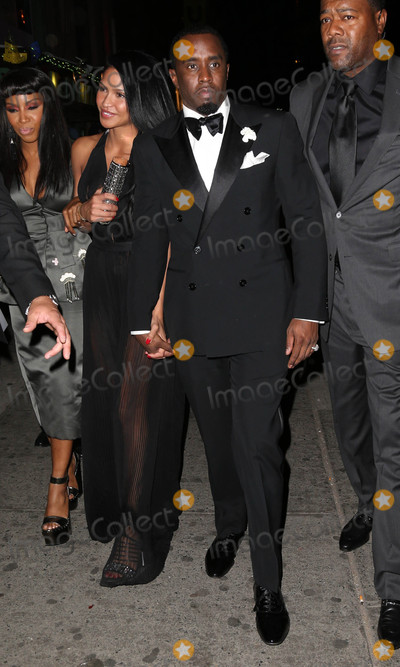 Diddy Combs Photo - Photo by KGC-146starmaxinccomSTAR MAX2015ALL RIGHTS RESERVEDTelephoneFax (212) 995-11965415Cassie and Sean Diddy Combs at an after party following the Costume Institute Met Gala in New York City(NYC)