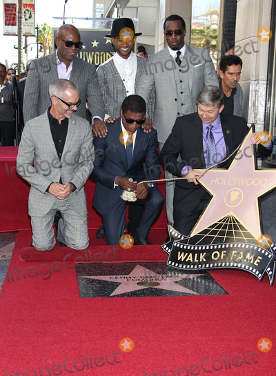 Diddy Combs Photo - Photo by REWestcomStarmaxinccom2013ALL RIGHTS RESERVEDTelephoneFax (212) 995-1196101013Antonio LA Reid Usher Sean P Diddy Combs Kenny Babyface Edmonds Kenny Babyface Edmonds honored with a star on the Hollywood Walk of Fame in front of the W Hotel in (Hollywood CA)