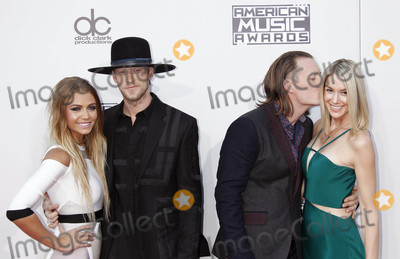 Tyler Hubbard Photo - Photo by REWestcomstarmaxinccomSTAR MAX2015ALL RIGHTS RESERVEDTelephoneFax (212) 995-1196112215Brittney Marie Cole Brian Kelley Tyler Hubbard (Florida Georgia Line) and Hayley Stommel at The 2015 American Music Awards(Los Angeles CA)