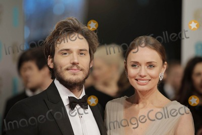 Sam Claflin Photo - Photo by KGC-42starmaxinccomSTAR MAX2015ALL RIGHTS RESERVEDTelephoneFax (212) 995-11962815Sam Claflin and Laura Haddock at the 2015 EE BAFTA British Academy Film Awards(London England UK)