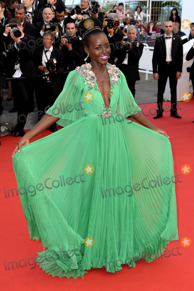 Lupita Nyongo Photo - Photo by DPAADstarmaxinccomSTAR MAX2015ALL RIGHTS RESERVEDTelephoneFax (212) 995-119651315Lupita Nyongo at The Opening Ceremony and La Tete Haute Premiere at The 68th Annual Cannes Film Festival(Cannes France)