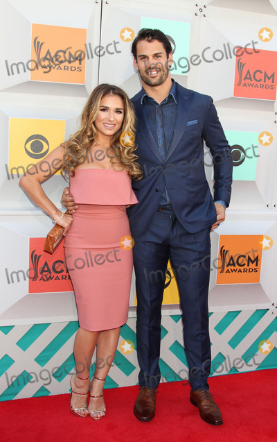 Eric Decker Photo - Photo by REWestcomstarmaxinccomSTAR MAXCopyright 2016ALL RIGHTS RESERVEDTelephoneFax (212) 995-11964316Jessie James and Eric Decker at the 51st Academy of Country Music (ACM) Awards at the MGM Grand Garden Arena(Las Vegas Nevada)