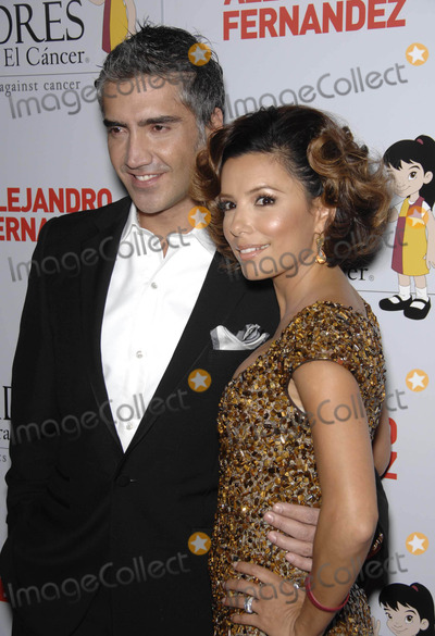 Alejandro Fernandez Photo - Photo by Michael Germanastarmaxinccom200810708Eva Longoria and Alejandro Fernandez at the Padres Contra El Cancers 8th Annual El Sueno De Ezperanza Benefit Gala(Los Angeles CA)