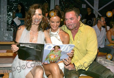Shareef Malnik Photo - Actresses Gabrielle Anwar (C) Perry Reeves and Shareef Malnik attend the Marysia Swimwear fashion show part of the Mercedes-Benz Fashion Week Swim 2011 at The  Raleigh Hotel in Miami Beach FL 71910Byline credit TV usage web usage or linkback must read MAVRIXONLINECOM  Tel 305 542 9275 or  954 698 6777