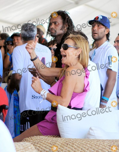 Ana Obregon Photo - Spanish actress celebrity and socialite Ana Obregon enjoys the festivities at the FIFA Beach Tournament which is part of the Beach Soccer Worldwide Miami Cup 2011 Miami Beach FL 050211