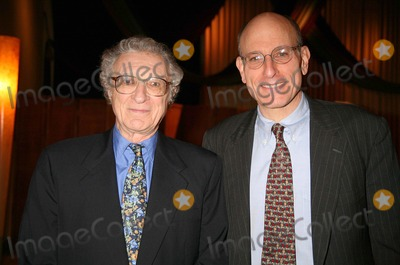 Fred Ebb Photo - SHELDON HARNICK AND MITCHELL BERNARD AT THE FRED EBB FOUNDATION AND ROUNDABOUT THEATRE COMPANY COCKTAIL RECEPTION AND PRESENTATION OF THE 1ST ANNUAL FRED EBB AWARD FOR MUSICAL THEATRE SONGWRITING AT THE AMERICAN AIRLINES THEATRE PENTHOUSE LOUNGE IN NEW YORK CITY ON 11-29-2005  PHOTO BY HENRY McGEEGLOBE PHOTOS INC 2005K46088HMc