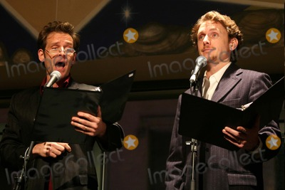 Malcolm Gets Photo - MALCOLM GETS AND JASON DANIELEY PERFORMING AT THE 2006 FRED EBB AWARD COCKTAIL RECEPTION HONORING MUSICAL THEATRE SONGWRITING TEAM STEVEN LUDVAK AND ROBERT FREEDMAN IN THE PENTHOUSE LOUNGE AT THE AMERICAN AIRLINES THEATRE IN NEW YORK CITY ON 11-28-2006  PHOTO BY HENRY McGEEGLOBE PHOTOS INC 2006K50903HMc