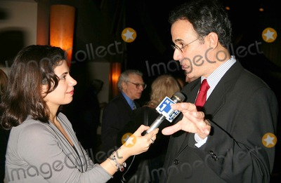 Fred Ebb Photo - JOHN BUCCHINO BEING INTERVIEWED BY NY 1S CLOVER LALEHZAR AT THE FRED EBB FOUNDATION AND ROUNDABOUT THEATRE COMPANY COCKTAIL RECEPTION AND PRESENTATION OF THE 1ST ANNUAL FRED EBB AWARD FOR MUSICAL THEATRE SONGWRITING AT THE AMERICAN AIRLINES THEATRE PENTHOUSE LOUNGE IN NEW YORK CITY ON 11-29-2005  PHOTO BY HENRY McGEEGLOBE PHOTOS INC 2005K46088HMc
