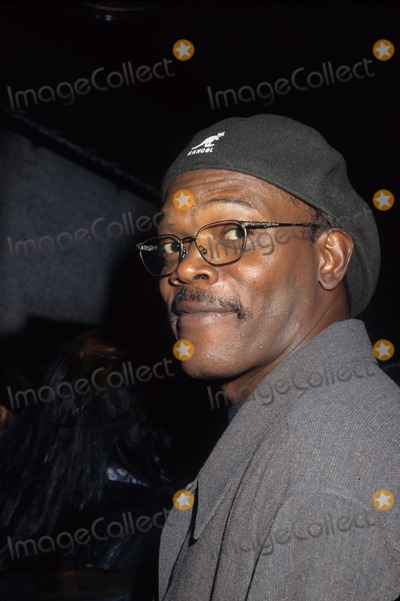 Samuel Jackson Photo - Samuel Jackson the Long Kiss Goodnight Party at Four Seasons Rest in New York 1996 K6450hmc Photo by Henry Mcgee-Globe Photos Inc