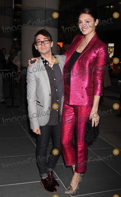 Anna Schilling Photo - Christian Siriano and Anna Schilling Arriving at the Premiere of Scatter My Ashes at Bergdorfs at the Florence Gould Hall in New York City on 04-29-2013 Photo by Henry Mcgee-Globe Photos Inc 2013