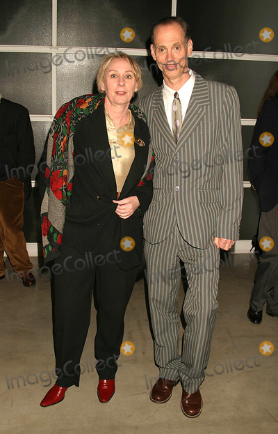 Mink Stole Photo - Mink Stole and John Waters at the Opening Reception of Andy Warhol Late Paintings and Helmut Newton Photographs at Gagosian Gallery Beverly Hills California 02262004 Photo by Henry McgeeGlobe Photos Inc