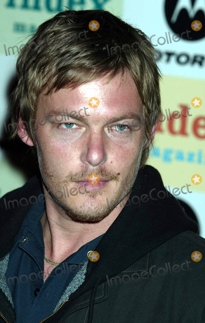 JT Leroy Photo - Norman Reedus at Jt Leroy and Friends at the Public Theater in New York City on April 17 2003 Photo Henry McgeeGlobe Photos Inc 2003