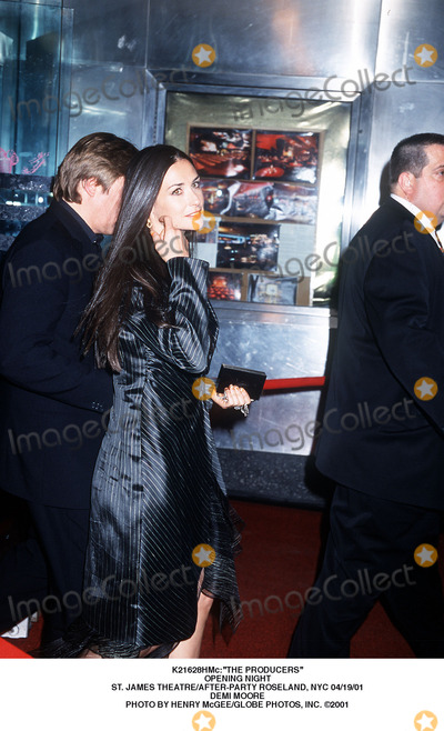 Demi Moore Photo - the Producers Opening Night St James Theatreafter-party Roseland NYC 041901 Demi Moore Photo by Henry McgeeGlobe Photos Inc