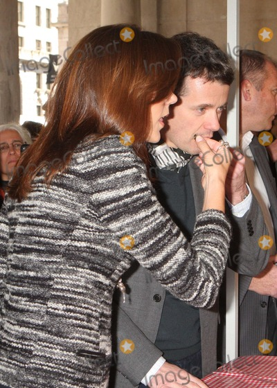 Crown Prince Frederik of Denmark Photo - Trh Crown Princess Mary and Crown Prince Frederik of Denmark at a Taste of Denmark New Nordic Cookout at Union Square Greenmarket in New York City on 10-22-2011 Photo by Henry Mcgee-Globe Photos Inc 2011