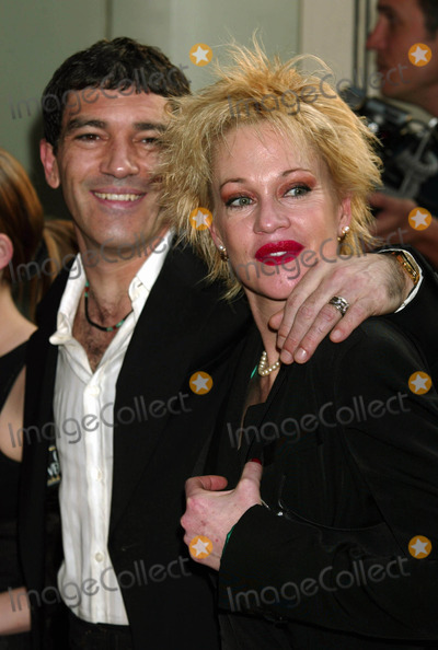 Melanie Griffith Photo - Antonio Banderas and Melanie Griffith Arriving at the Screening of and Starring Pancho Villa As Himself at Loews 34th Street Theatre in New York City on August 18 2003 Photo Henry McgeeGlobe Photos Inc 2003