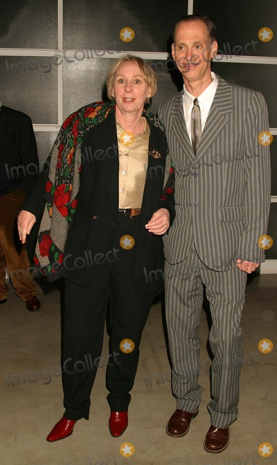 Mink Stole Photo - Opening Reception of Andy Warhol Late Paintings and Helmut Newton Photographs at Gagosian Gallery Beverly Hills California 02262004 Photo by Henry McgeeGlobe Photos Inc 2004 Mink Stole and John Waters