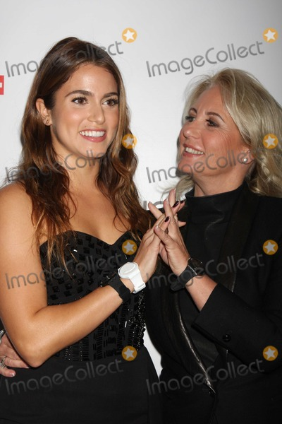 Arlette-Elsa Emch Photo - NYC  100610Nikki Reed and Madame Arlette-Elsa Emch (head od Swatch global) at the launch of the Swatch New Gents Collection at The Gansevoort Park AvePhoto by Adam Nemser-PHOTOlinknet