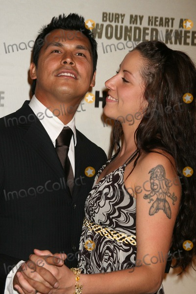 Adam Beach Photo - Adam_Beach_wife5452JPGNYC  052307Adam Beach and wife Tara premiere of his new movie BURY MY HEART AT WOUNDED KNEE at the American Museum of Natural HistoryDigital Photo by Adam Nemser-PHOTOlinknet