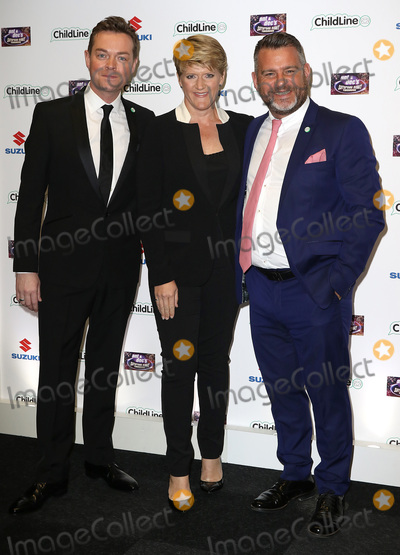 Andy Collins Photo - Oct 01 2015 - London England UK - Stephen Mulhern Clare Balding and Andy Collins attending Ant  Decs Saturday Night Takeaway ChildLine Ball Old Billingsgate