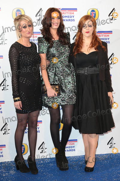 Jessica Knappett Photo - Dec 12 2013 - London England UK - British Comedy Awards 2013 Fountain Studios WembleyPictured Lauren ORourke (L) Jessica Knappett Lydia Rose Bewley (R) from comedy show Drifters