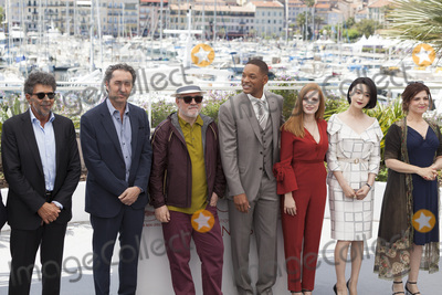 Agnes Jaoui Photo - CANNES FRANCE - MAY 17 Titre Gabriel Yared Paolo Sorrentino Pedro Amoldovar Will Smith Jessica Chastain Fan Bingbing Agnes Jaoui attends the Jury photocall during the 70th annual Cannes Film Festival at Palais des Festivals on May 17 2017 in Cannes France(Photo by Laurent KoffelImageCollectcom)