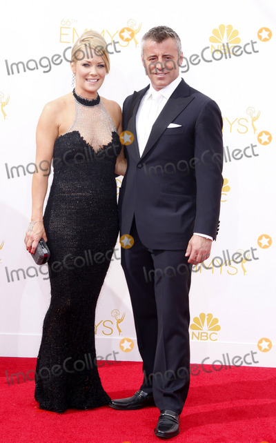 Andrea Anders Photo - Andrea Anders and Matt LeBlanc at the 66th Annual Primetime Emmy Awards held at the Nokia Theatre LA Live in Los Angeles on August 25 2014 in Los Angeles California Credit PopularImages