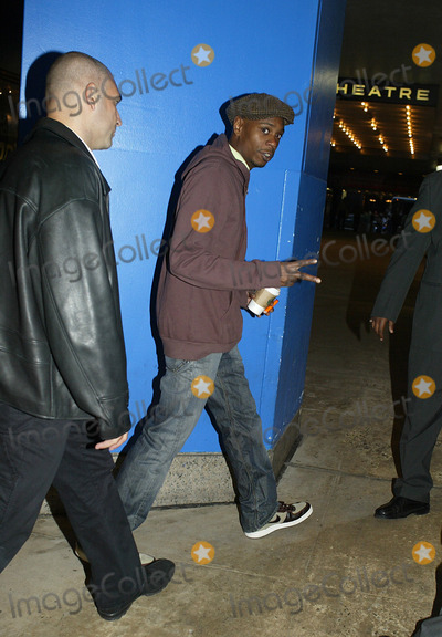 David Chappelle Photo - NEW YORK OCTOBER 5 2004 David Chappelle arrives at TRL Studios in Times Square