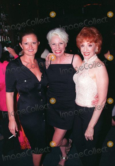 Angela Bowie Photo - Pictured is Angela Bowie (center) who was wife of David Bowie from 1970 to 1980s The Carnegie Club New York July 23 2001   REF AMUS2099
