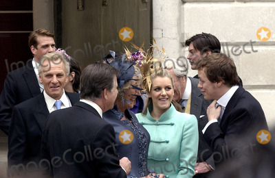 ANNABEL ELLIOT Photo - WINDSOR APRIL 9 2005    Annabel Elliot (sister of Camilla) Laura and Tom Parker Bowles arriving for Princes Charles wedding to Camilla Parker Bowles at Windsor Town Hall