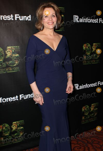 Renee Fleming Photo - April 2014 New York CityRenee Fleming arriving at the 25th Anniversary Rainforest Fund Benefit at Mandarin Oriental Hotel on April 17 2014 in New York City