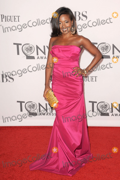 Adrienne Warren Photo - June 10 2012 New York City Adrienne Warren attends the 66th Annual Tony Awards at The Beacon Theatre on June 10 2012 in New York City