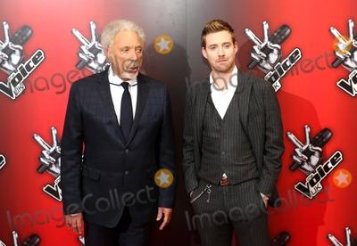 Tom Jones Photo - January 6 2014 New York CityTom Jones and Ricky Wilson at The Voice UK Red Carpet Launch on January 6 2014 in London