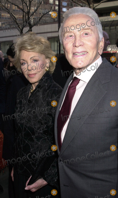 Anne Buydens-Douglas Photo - Kirk Douglas and Anne Buydens Douglas at the premiere of It Runs in The Family New York April 13 2003