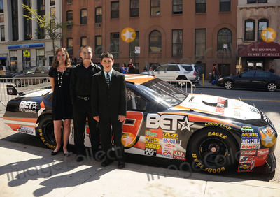 ANNABETH BARNES Photo - L-R) Racer Annabeth Barnes racer Brandon Warren and  racer Joshua Hobson at the premiere of Racing Dreams during the 2009 Tribeca Film Festival at SVA Theater on April 25 2009 in New York City