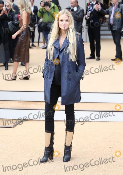 Gabriella Wilde Photo - Gabriella Wilde at London Fashion Week SS14  - Burberry Prorsum ss 2014 - Arrivals London 16092013 Picture by Henry Harris  Featureflash