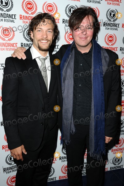 Kyle Schmid Photo - Kyle Schmid and Rudolf Buitendach arrives for the Dark Hearts Screening as part of the Raindance Festival 2012 at the Apollo Cinema London 29092012 Picture by Steve Vas  Featureflash