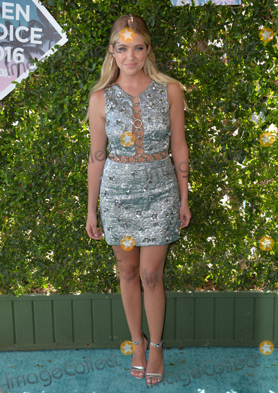 Ashley Benson Photo - LOS ANGELES CA July 31 2016 Actress Ashley Benson at the 2016 Teen Choice Awards at The Forum in Inglewood CaliforniaPicture Paul Smith  Featureflash